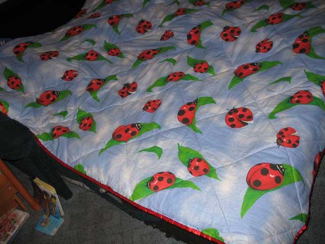 Как сшить стеганое одеяло на синтепоне 14